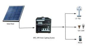 Mini sistema portatile di energia solare per la casa