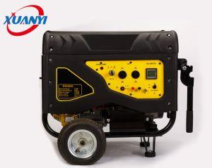 Verkaufs-leiser Benzin-Generator der Fabrik-2kw-6kw mit Griffen und Rädern