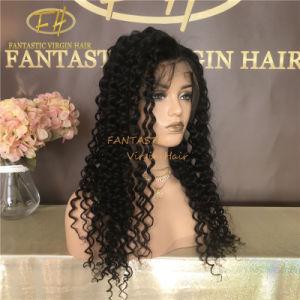 100% brésilien/Indian Virgin/Remy Cheveux humains Full/Frontale perruque en dentelle avec cuticule alignés