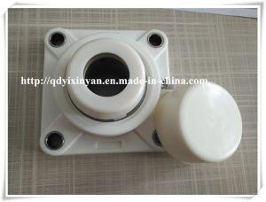Cuscinetto di plastica dell'alloggiamento del blocchetto di cuscino con il cuscinetto Ucf207-20 dell'acciaio inossidabile
