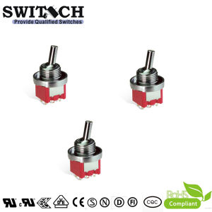 Polvere-Proof Waterproof Toggle Switch dello SGS Electronical 6pins 30000cycles per Machine