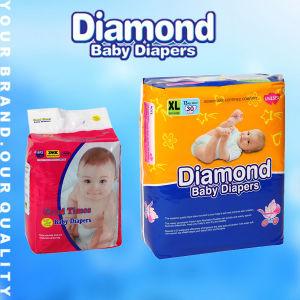 Blandas desechables de fábrica barata buena calidad de los pañales para bebés