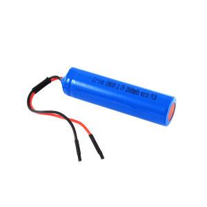 Li-ion cilíndrica18650 Batería 2600mAh 3,7V con PCB, que se utiliza para productos industriales