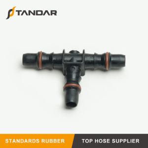 Accessorio per tubi per il tubo flessibile di combustibile di gomma idraulico di pressione flessibile