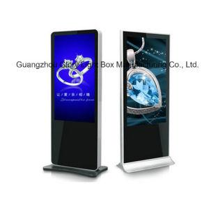 각자 서 있는 접촉 스크린 모니터 LCD 간이 건축물