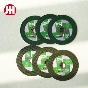 4.5インチの研摩剤はInox - Yujinhongのための車輪を断ち切った