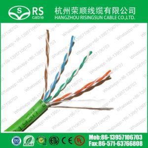 Qualidade elevada 24AWG Cat5e CAT7 UTP CAT6/FTP/SFTP LSZH PVC cabo de rede LAN