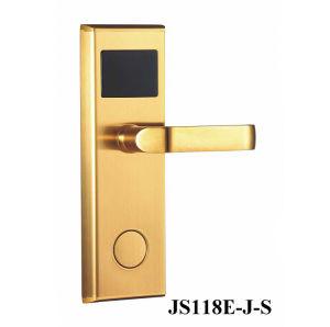 Klassisch! Edelstahl HF-Chipkarte-Hotel-Tür-Verriegelung--Js118e-J-S