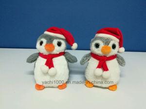La Navidad De Pingüinos De Ojos Grandes De Diseño De Dibujos