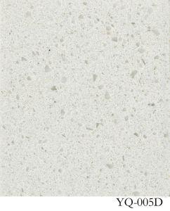 Heet verkoop het Witte Kwarts van de Kleur voor Countertop/Kitcken (YQC)