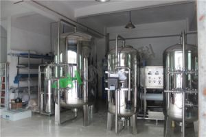 Filtre à charbon Aqua en acier inoxydable de filtre à sable rapides