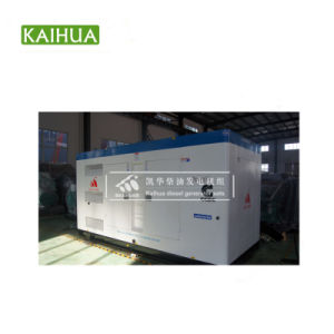 gruppo elettrogeno diesel silenzioso 320kw/400kVA alimentato da Cummins Engine