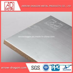 Alta resistência de PVDF painéis de alumínio alveolado anticorrosão para paragem de autocarro Shelter