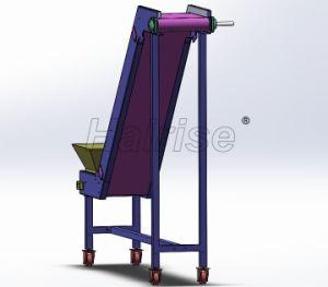 Trasportatore propenso della cinghia in PVC Di Hairise nell'industria Nuts