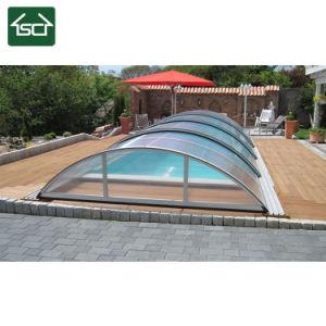 De Dekking van de Bijlagen van het Zwembad met het Frame van het Aluminium en het Dakwerk van het Comité van PC