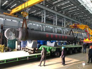 Peso 200t maior do cilindro hidráulico de dupla ação para 130m barcaça de condução da estrutura da pilha