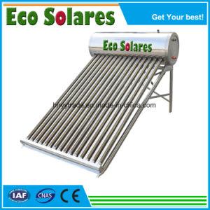 120L de baja presión calentador de agua solar compacto/Calendator Solares de Agua