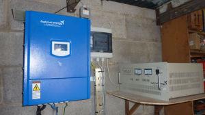 5KW kw+1.5gerador da turbina eólica e solar PV sistema híbrido para uso doméstico (6.5KW)