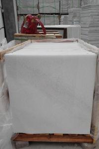2017極度の24X24水晶白いThassosの大理石の床タイルを磨いた