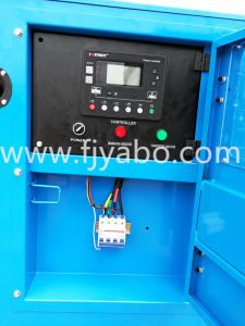 Diesel die van de voorraad Generator door Isuzu wordt aangedreven