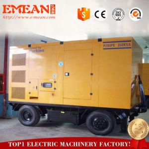 Nouveau ! Type de remorque 30 kVA Groupe électrogène Diesel avec Ricardo moteur