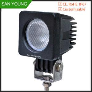 10W LED CREE Offroad Luz de condução para automóveis e motociclos
