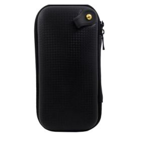 エヴァ袋ボックス袋の黒いイヤホーン袋箱のジッパーのEarbudsのヘッドセットのヘッドホーンの記憶を運ぶ携帯用イヤホーンのアクセサリ