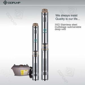 bombas de água submergíveis da bomba do aço 3sdm1.8/10 inoxidável