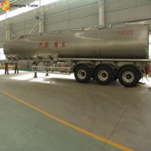 アルミニウムトレーラー45000リットルの燃料タンクのトレーラーの重油のタンカーの