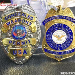 La fábrica de metal personalizados de placa de policía militar