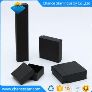عادة سوداء نسيج ورقة ورق مقوّى عقد صندوق