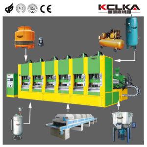 EVA produits high-tech du caisson de nettoyage d'injection de la machine de moulage