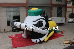 Capacete de pato inflável jogo de desporto