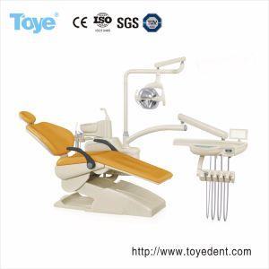 Multifuncionales LED moderno sillón dental para clínica de la unidad de Hospital / silla