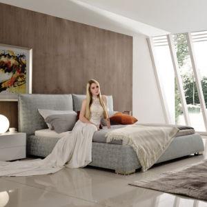 寝室(G7001)のための環境に優しいホーム家具の現代装飾された柔らかいベッド