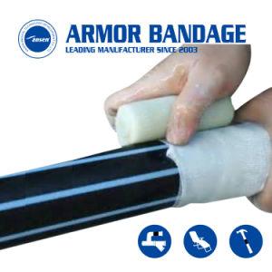 Nastro colante della vetroresina del nastro di difficoltà della fibra del tubo di sigillamento della perdita del tubo di arresto Emergency