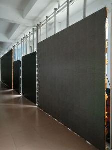 Beste Miete LED-Bildschirmanzeige des Ansicht-Anblick-P10 960*960mm im Freien abnehmbare
