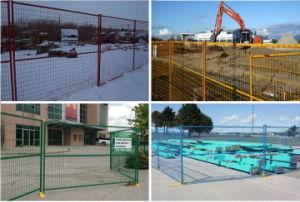 Canadian Construcción temporal valla