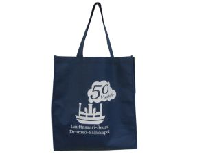 Grand Fashion 100% coton Sac shopping réutilisables lourd sac fourre-tout de toile
