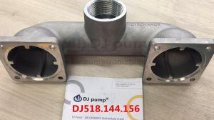 DJ 518.144.156 PP Puerto de entrada de aluminio PVDF y puerto de salida de succion y descarga