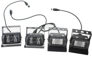 4 mobiler DVR 3G 4G WiFi GPS 720p Ahd HDD Bus/LKW/Fahrzeug Mdvr der Kanal-