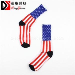 Progettare i calzini per il cliente di riciclaggio di pallacanestro del cotone per gli sport