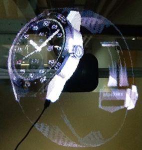 Pubblicità prodotti 2018 della visualizzazione dell'ologramma del ventilatore 3D della macchina LED di nuovi