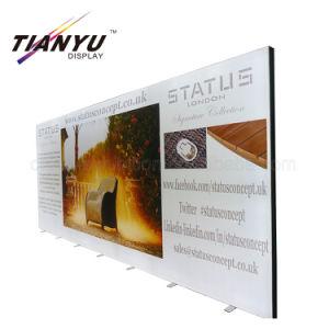 Custom наружной рекламы алюминиевый профиль ткань легких окно входа