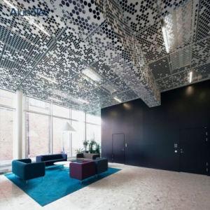 Usine de panneaux de plafond en aluminium de l'hôtel de gros pour l'hôtel