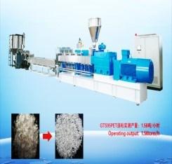 Machine van de Uitdrijving van de Pelletiseermachine van het huisdier de Plastiek Gerecycleerde