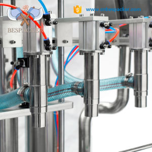 De automatische Machine van het Flessenvullen van de Olie van de Kokosnoot van het Glas