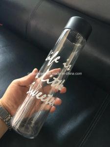 Personalizar 800ml Voss frasco de vidro do cilindro