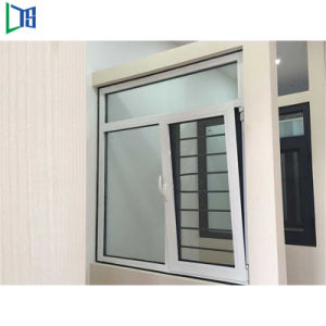 Finestra di legno placcata di alluminio di inclinazione e di girata del nuovo prodotto 2018 da vendere