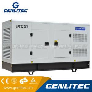 100kw 125kVA Groupe électrogène diesel insonorisé avec Cummins 6BTA5.9-G2